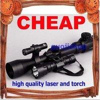 Illuminated 3-9X40E SCOPE FLASHLIGHT LASER DUAL MOUNT>>