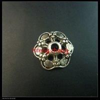 200 pcs/lot alloy bead caps Free shipping