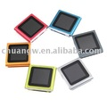 New Arrival 6th Gen 32GB 1.8inch Touch Screen Clip MP3 MP4 Player + Retail package + Free Shipping