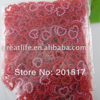 wholesale 1000pcs/lot Free shipping  red 11mm imitation heart shape flatback pearls nail cellphone laptop art
