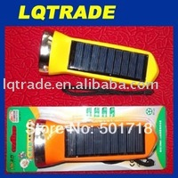 Dedicated to earthquake relief/Ultra bright spotlights solar-powered flashlight/Solar Flashlight 5LED