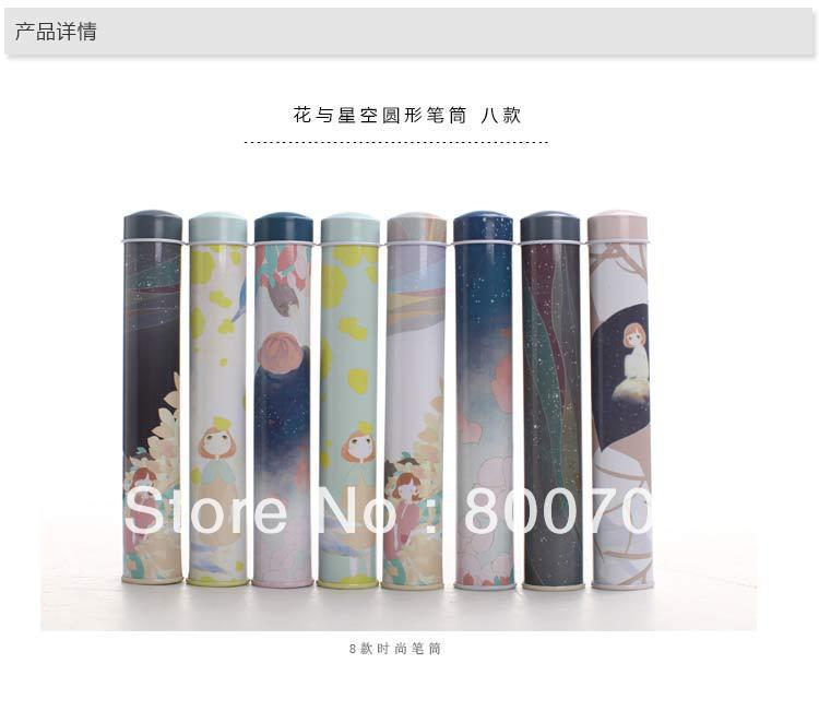 Wholesale Korea Creative Tin Case / Pen Case/ Tin Pencil Box, 45 pcs/ lot.(China (Mainland))