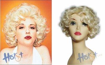 In stock! Marilyn Monroe style wig,Halloween Costume Wigs,short #613,10pcs/lot