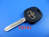 5 pcs/lot transponder key ID4D60 TOY43