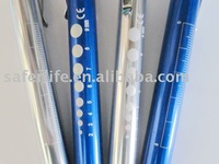 small gift LED Penlight Medical Diagnostic Pen light with scale SMALL Order available