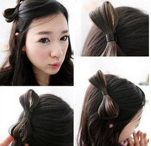 FREE SHIPPING Wholesale 6 PCS/LOT Bow Hair Clip, Hair Ornament, Hair Decoration, Headwear, Fashion Accessory