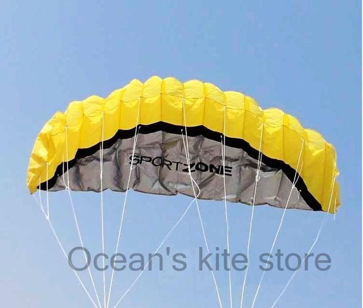<Ocean's kite store> Promoção !! 2.5m Soft Power Kite , ferramentas fechados , Moda pipa voando de voar e controlar ! Grosso !(China (Mainland))