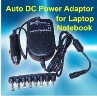 Free shipping 8 Connecters  Universal Car Charger Adapter converter Power DC Supply for Laptop portable computer