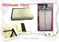 Wholesale 10pcs/lot New Large Garment Suit Wedding Gown Dress Cloth Protector Dustproof Storage Bag Case
