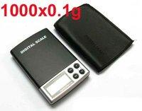 0.1g-1000g / 1000g/0.1 Mini Electronic digital Balance Pocket Jewelry Diamond Gold Weight Scale + free shipping