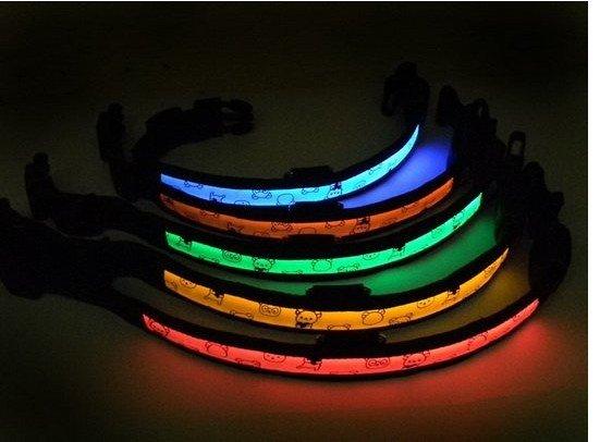 Free shipping Wholesale - Pet collar,LED dog collar,Flashing dog collar ,led pet collar,80pcs/lot(China (Mainland))