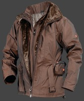 New WELLENSTEYN ZERMATT women's winter jacket brown WB1