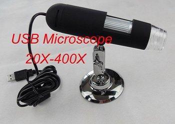 1.3MP USB Digital Video Camera Microscope Zoom 20X--400X