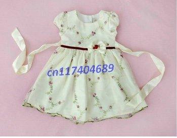new chiffon toddler girl magic cube dress, girl's dress,girl's clothing