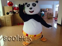 Retail or wholesale Excellent Designer Costume Kung Fu Panda Monster Mascot Costume For Party