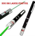 free shipping  532nm 200mW green Laser pen laser pointer Green Laser can not burning match