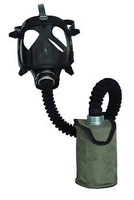 Gas Mask with a waist bag very comfortable using