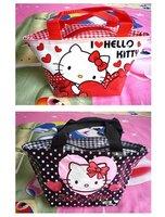 2PCS New Hello kitty cute lunch bag Girls Handbag 110