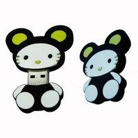 Free shipping Cute cartoon animal  USB Flash drive 1GB 2GB 4GB 8GB 16GB (MOQ 30PCS)