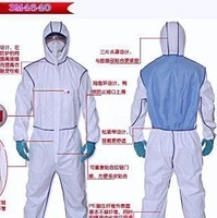 Nuclear Radiation Protection Coveralls Suit , Workwear and UniformPeople Who Are In  Potential Effects Area Must Have,