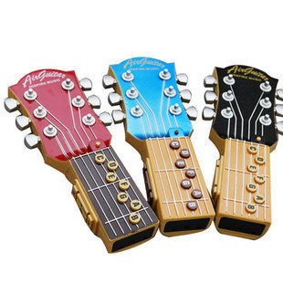 Wholesale 3pieces/lots Novelty Product Air guitar Electric toys Music instrument guitar