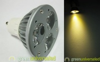 wholesale led GU10 spotlight high power 3*1w led GU10 light 25pcs/lot 85v-265v