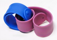 Beautiful Silicone Slap Wristband