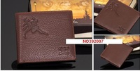 Free shipping.SEPTWOLVES purse.man genuine leather wallet.handbag.