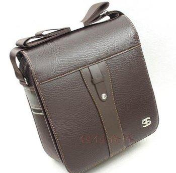 Lowest price!! 100% Ginuine Crazy Horse Leather Men's Handbag Bag Laptop bag Briefcase Messenger bag