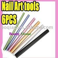 6pcs/set Nail art shape Tool Nail art form Free shipping