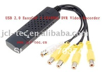 USB 2.0 USB DVR Video Audio Capture Adapter 4 CHANNEL Easycap