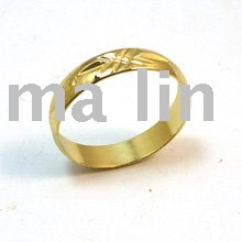 Free shipping wholesale cheap gold jewelry 18K ring(China (Mainland))
