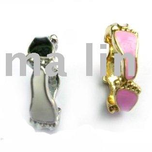 Free shipping wholesale nice cute feet enamel ring