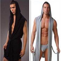 Free Shipping! N2N Bodywear Polyester Mesh Bathrobes/four colors