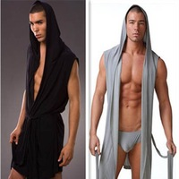 Free Shipping! N2N Bodywear Polyester Mesh Bathrobes/four colors