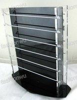 Twirling show shelf Jewelry Beads Charms black acrylic display rack 5PCS Brand new Free shippment