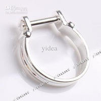 Wholesale Free shipping 20x Silver Plated Rings Fit European Beads 19.7mm 152066