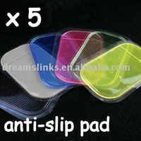 Wholesale New 5Pcs/lot Anti slip mat,sticky pad, non-slip pad Car Anti-slip Pad Free Shipping