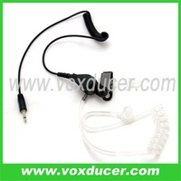 Earpiece listen only 2.5mm jack plug for two way radios