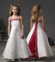 Factory Custom Satin Flower Girl/ Child Dress All Size