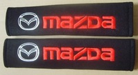 Wholesale - Car Seat Belt Shoulder Cushion Cover for MAZDA 20 pair /lots mix order free shiping