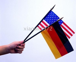 all kinds of national hand flag, pennants, company flags, bunting - customized -(China (Mainland))