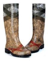 Novelty Design rain boots,Charming women rubber rain boots,Super Quality PVC rain boots