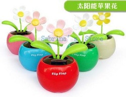 Flip Flap,Solar Flower,Solar Gift solar toys(China (Mainland))