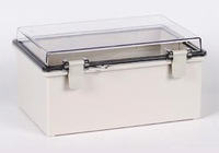 W190X290XD140MM/CLEAR DOOR/IP66/WATERPROOF ENCLOSURE/PLASTIC BOX/DISTRIBUTION BOX/TIBOX/FIBOX/HIBOX/WATERPROOF BOX