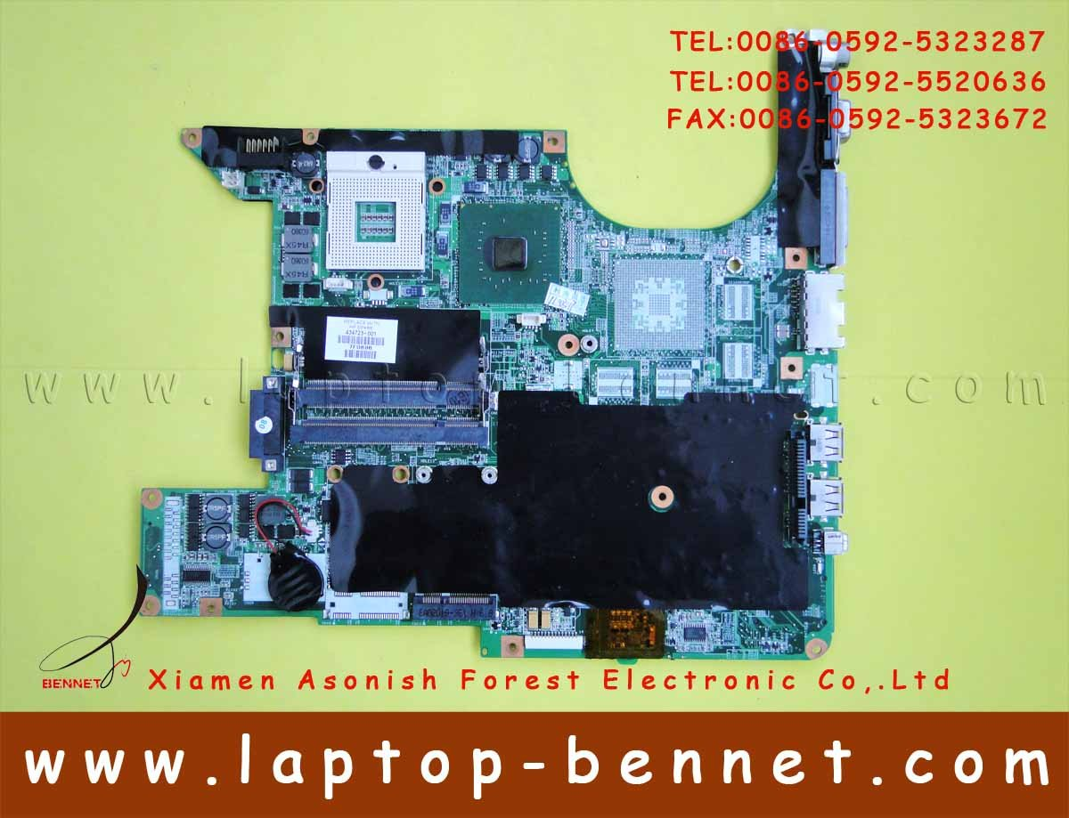 For HP Pavilion dv6000 Series Intel Motherboard 434723-001 without memory - Full-featured (FF) Intel 945GM chipset(China (Mainland))
