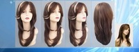 FREE SHIPPING Synthetic lace front wig 18 INCH #27/613