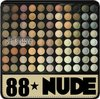 Free Shipping PRO 88 ULTRA SHIMMER WARM EYESHADOW PALETTE  88 WARM COLOR MAKEUP PALETTE #