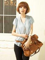 Baotou whims sleeve shirt collar