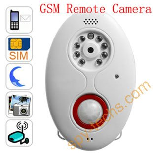Free shipping GSM Remote Security Camera Motion Detection/gsm security device/gsm alarm